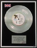 "U2  -  7"" Platinum Disc - WITH OR WITHOUT YOU"